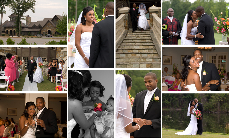 Their beautiful wedding was held at one of the best wedding venues in