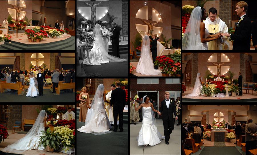 St Matthews Catholic Church Wedding Charlotte Wedding Photographers