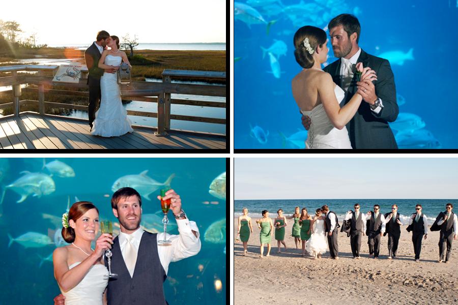 Nc Aquarium Pine Knoll Shores Wedding