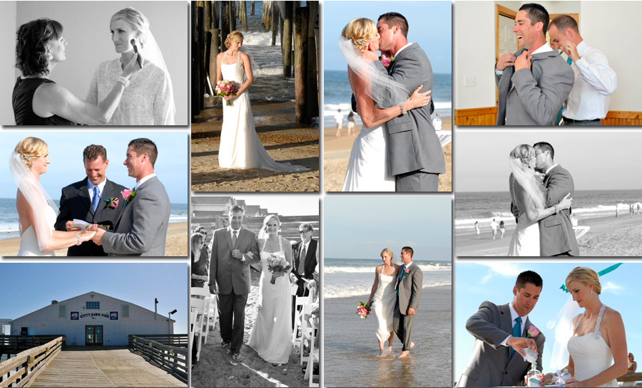 Wedding at Hilton Garden Inn Kitty Hawk
