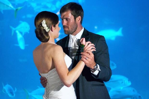NC Aquarium Pine Knoll Shores Wedding Photography Angela Brett